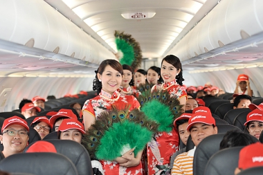 VIETJET 500,000 PROMOTIONAL TICKETS FROM ONLY RM1!
