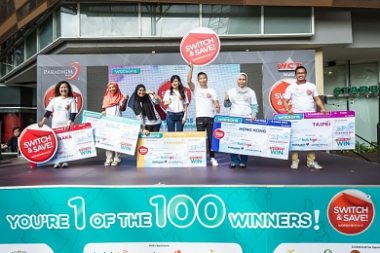 LUCKY WATSONS VIP MEMBERS REWARDED WITH HOLIDAY DESTINATIONS AND PRIZES WORTH RM3 MILLION!