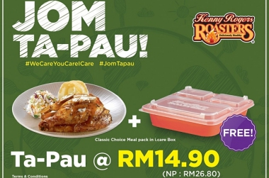 JOM TA-PAU WHOLESOME MEALS FOR YOUR LOVED ONES!