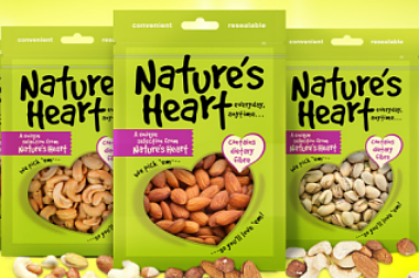 GUARDIAN INTRODUCES NATURE'S HEART RANGE OF SNACKS