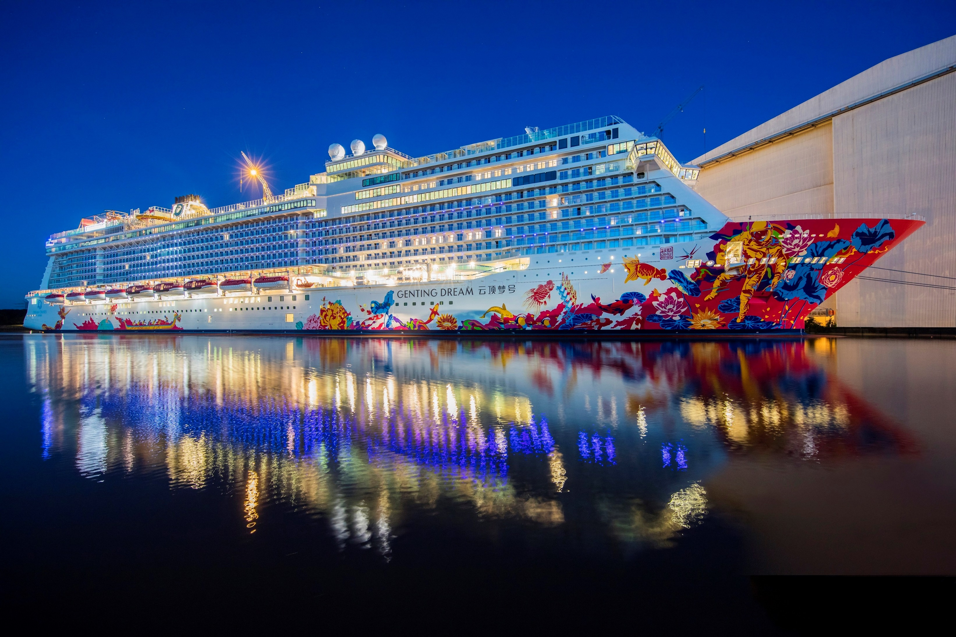 Genting Dream Set To Light Up Asia S Skylines