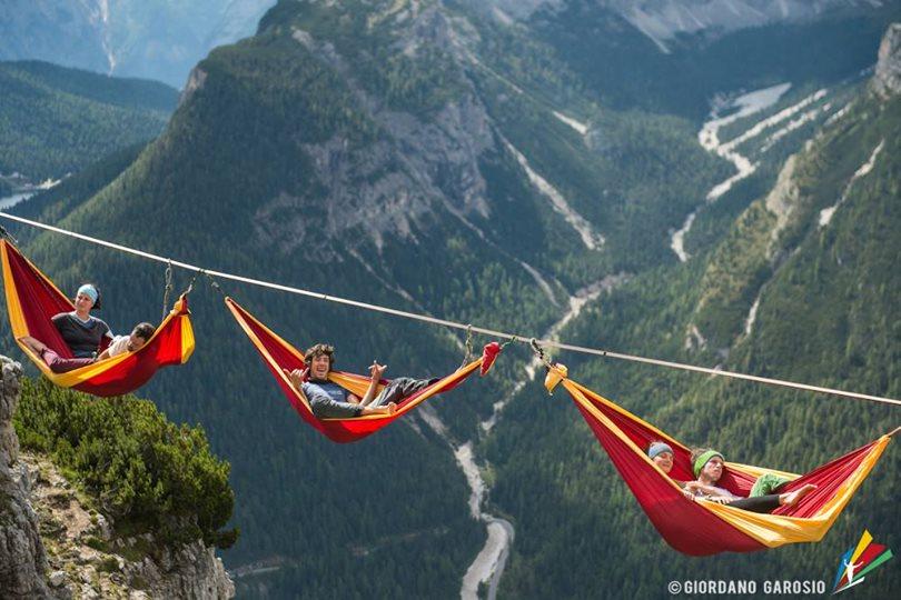 Slackers Slept On Hammocks That Hangs Hundreds Of Feet