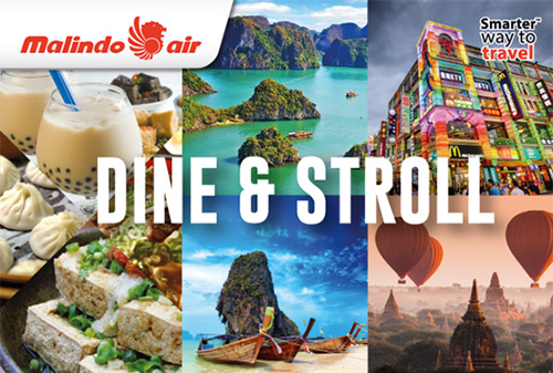 【MALINDO AIR】DINE AND STROLL PROMO