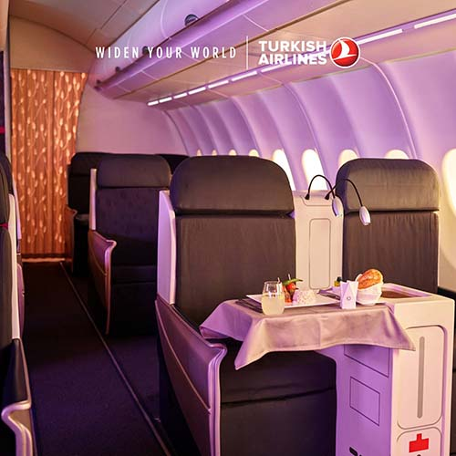 【TURKISH AIRLINES】BUSINESS CLASS EXCLUSIVE DEALS BUY 1 FREE 1