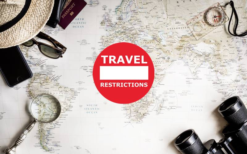 【TRAVEL RESTRICTIONS】ATTENTION TO ALL TRAVELLERS!