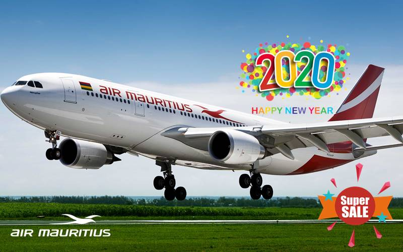 ✈【AIR MAURITIUS】2020 NEW YEAR SALE!