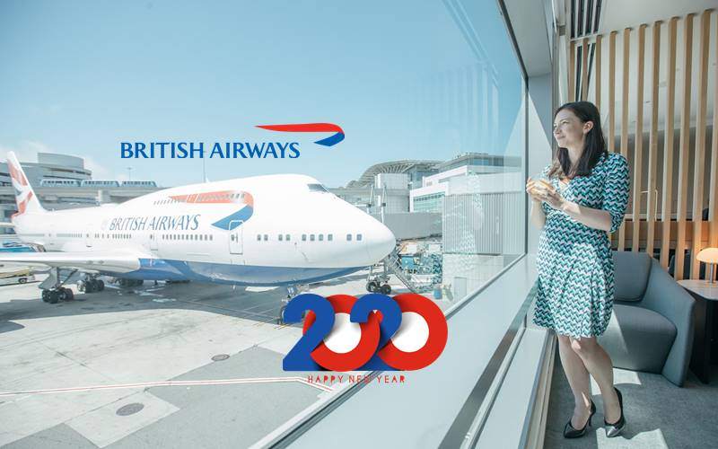✈【BRITISH AIRWAYS】2020 NEW YEAR SALE!