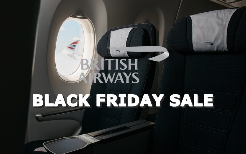 ✈ EXCLUSIVE✈ 【BRITISH AIRWAYS】BLACK FRIDAY SALE WITH ADDITIONAL DISCOUNT OF RM200!
