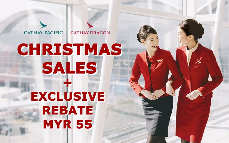 ✈【CATHAY PACIFIC AIRWAYS】2019 HO-HO-HOLIDAY SALE + EXCLUSIVE PROMO CODE!