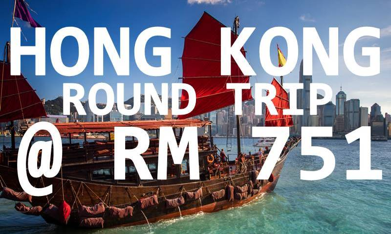 HONG KONG ALL-IN RM 751 NETT BY【CATHAY DRAGON】