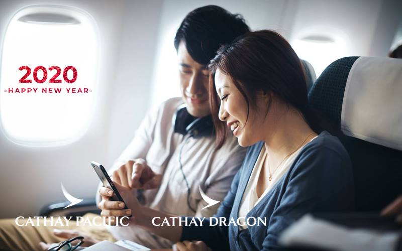 ✈【CATHAY PACIFIC AIRWAYS】2020 NEW YEAR SALE!