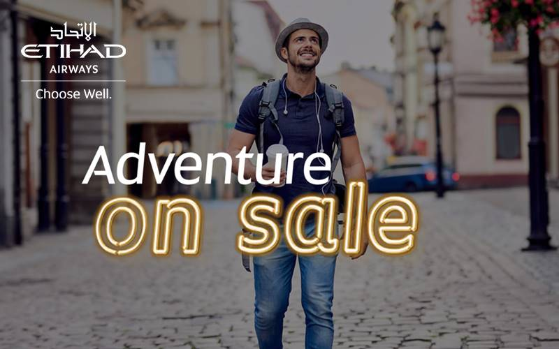 ✈【ETIHAD AIRWAYS】2020 NEW YEAR SALE!