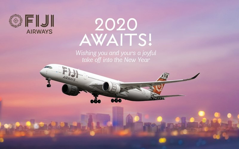✈【FIJI AIRWAYS】2020 NEW YEAR SALE!
