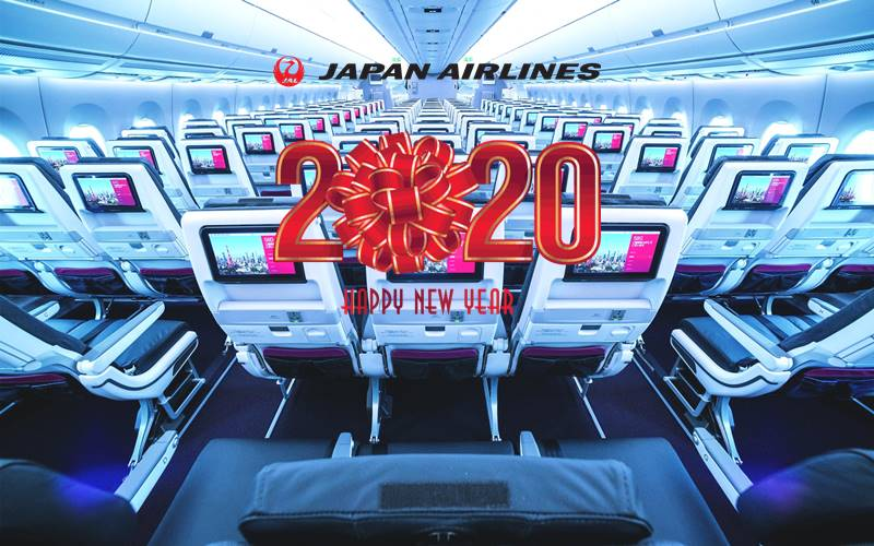 ✈【JAPAN AIRLINES】2020 NEW YEAR SALE!