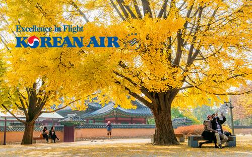 【KOREAN AIR】AUTUMN HOT SALE, SEOUL RM 1635 ALL-IN