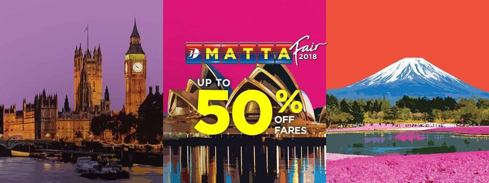 À�malaysia Airlines】matta Travel Fair Special Deal