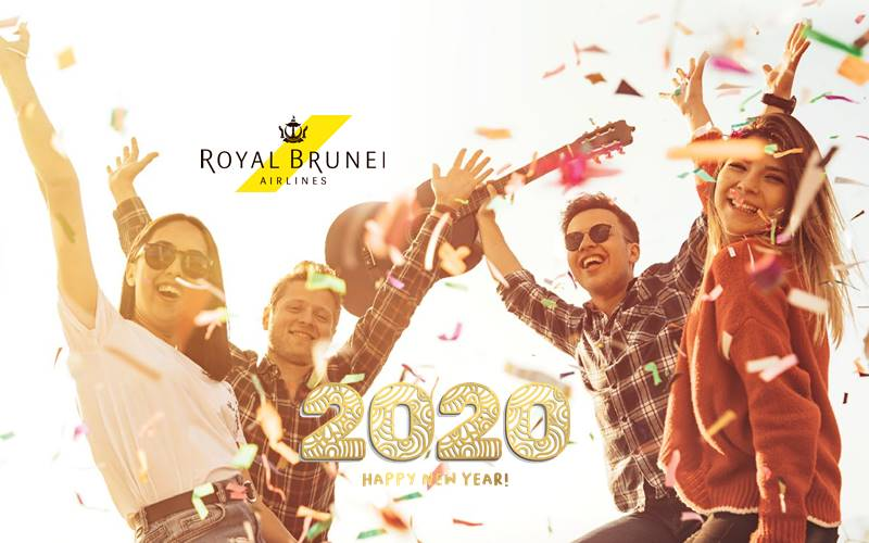 ✈【ROYAL BRUNEI AIRLINES】2020 NEW YEAR SALE!