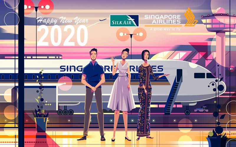 ✈【SINGAPORE AIRLINES】2020 NEW YEAR SALE!