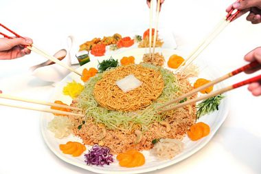 STAND A CHANCE TO WIN A SPECIALLY CURATED YEE SANG FROM RUYI AND LYN!