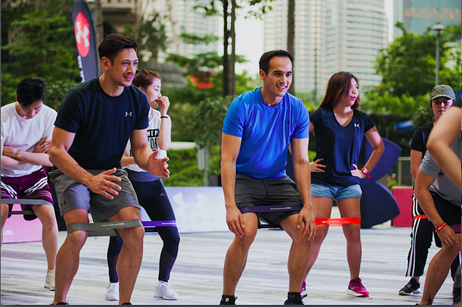 Free Workout Sessions By Armour@ThePark!