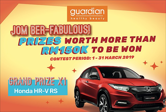 Be Fabulous And Win A Car From Guardian