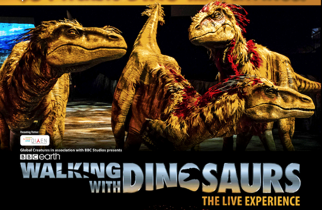 现场体验:WALKING WITH DINOSAURS