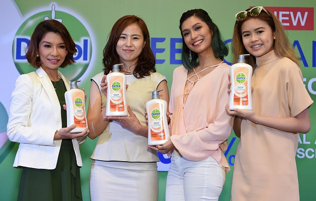 Dettol's new range cleanses deep into pores for skin protection