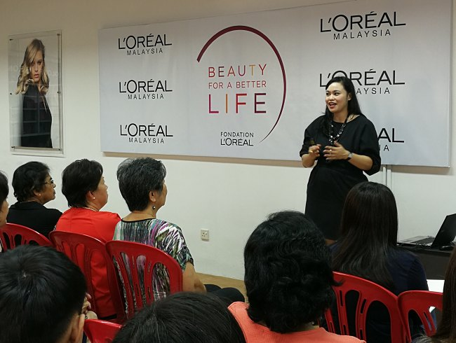 Disadvantaged young women graduate as certified hairdressers and makeup artists through L'Oreal Malaysia's Beauty For A Better Life