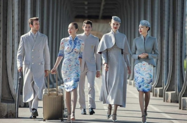 HAVE YOU SEEN HAINAN AIRLINES' NEW HAUTE COUTURE UNIFORMS?!