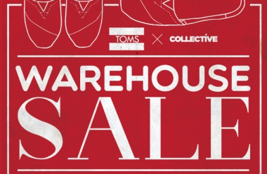 TOMS FIRST EVER WAREHOUSE SALE!