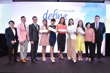 ACUVUE: DEFINING A WOMAN'S BEAUTY WITH HEALTHY, BEAUTIFUL EYES