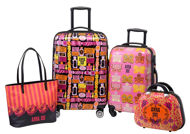 The Anna Sui Luggage Collection Is Here!