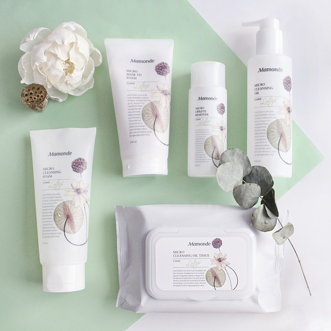 Mamonde Introduces The Three Power-Flowers In Their Cleansing Line!