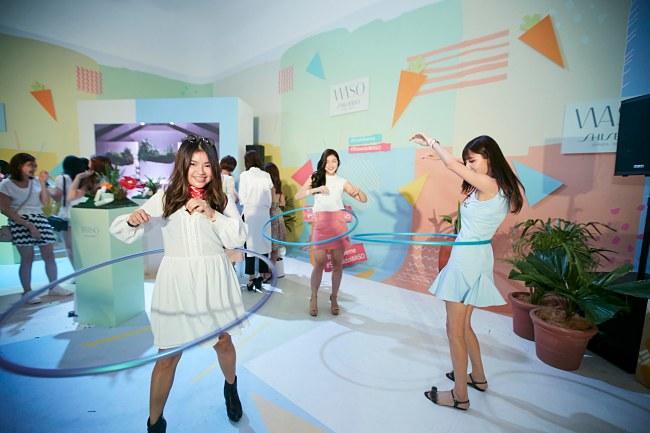 Shiseido Celebrated WASO In Raving Style