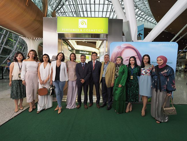 Korea's Number 1 Natural Beauty Brand Arrives In Kuala Lumpur International Airport (Klia)