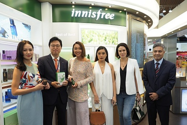KOREA'S NUMBER 1 NATURAL BEAUTY BRAND ARRIVES IN KUALA LUMPUR INTERNATIONAL AIRPORT (KLIA)