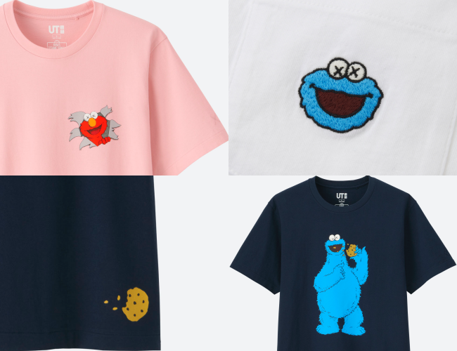 a199875b UNIQLO to Launch KAWS x SESAME STREET UT Collection