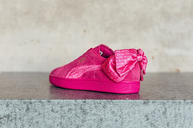Puma Inspired By Barbie For Iconic Suede 50 Collection