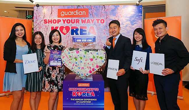 Shop Your Way To Korea At Guardian Malaysia!