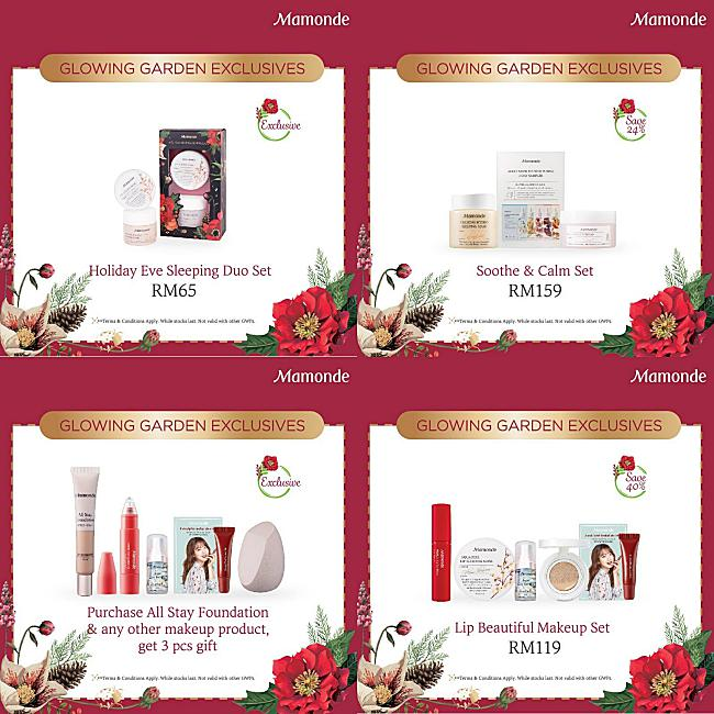 Mamonde Presents 'Glowing Garden' Holiday Collection!