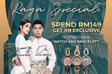 BOND IN STYLE THIS RAYA WITH BATA!