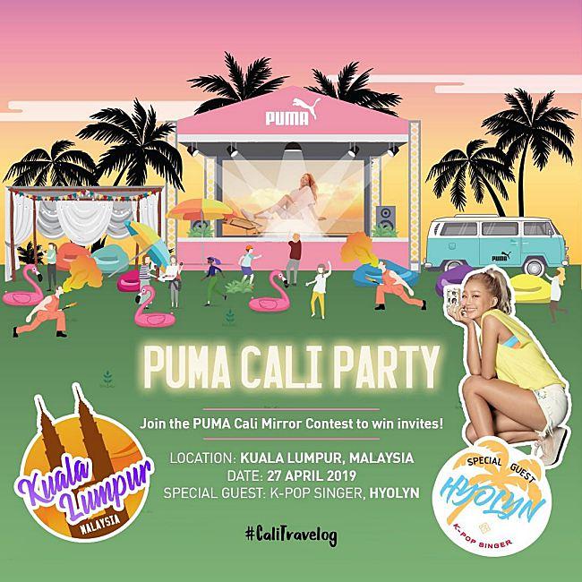 detailed look 26795 e98fd K-pop Singer, Hyolyn To Meet Puma Cali Fans In April!