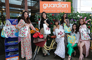GUARDIAN & NAELOFAR UNVEILS EXCLUSIVE TOTE BAGS FOR RAMADAN!