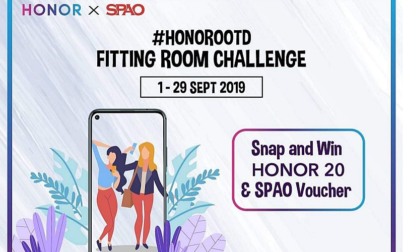 #HONOROOTD FITTING ROOM CHALLENGE BY HONOR MALAYSIA AND SPAO!