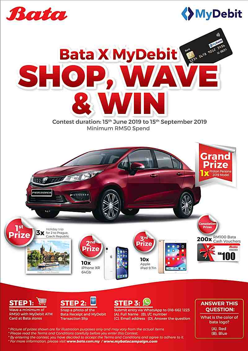 Wave & Win a Car or a Trip to Prague!