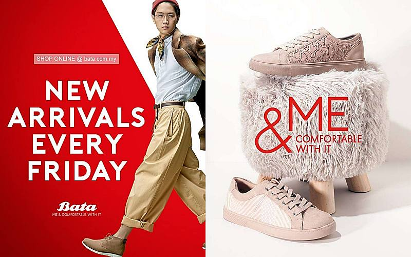BATA MALAYSIA PROMISES NEW ARRIVALS EVERY FRIDAY!