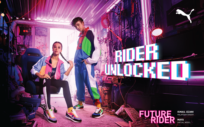 PUMA INTRODUCES THE REGION'S FIRST VIRTUAL MODEL WITH THE REINVENTED PUMA RIDER