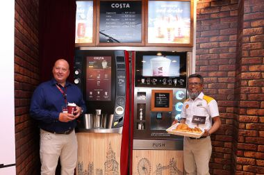 COSTA COFFEE LAUNCHES SELF-SERVE COFFEE IN PARTNERSHIP WITH SHELL MALAYSIA