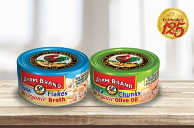 AYAM BRAND TUNA IS NOW AVAILABLE IN ORGANIC!