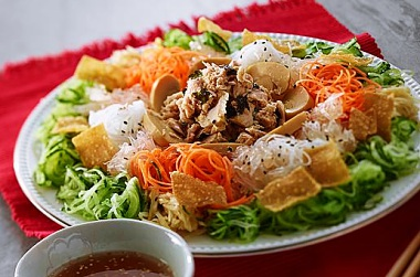 MAKE YOUR OWN TUNA YEE SANG FOR LOU SANG THIS YEAR!